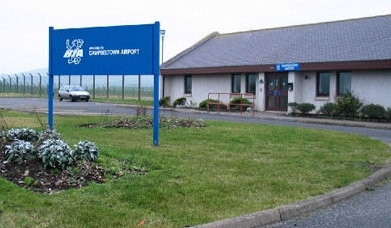 Highland and Island Airports, Campbeltown Airport, Terminal Front