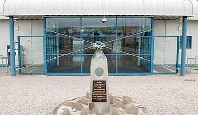 Kirkwall Airport, Terminal Front, Highland and Island Airports