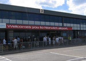 Norwich Airport, Airside Arrivals, Airport Apron