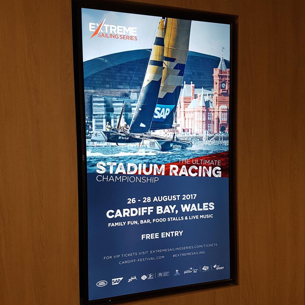 Advertising at Bristol Airport