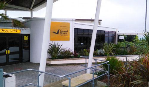 Cornwall Airport Advertising