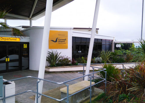 Cornwall Airport Advertising