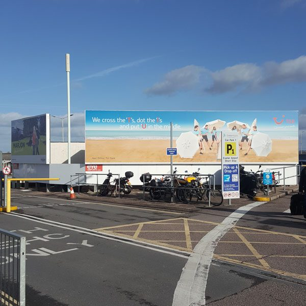 Exeter Airport, External Illuminated 96 Sheet, TUI