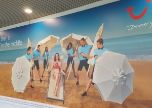Tui Airport Advertising with Eye Airports