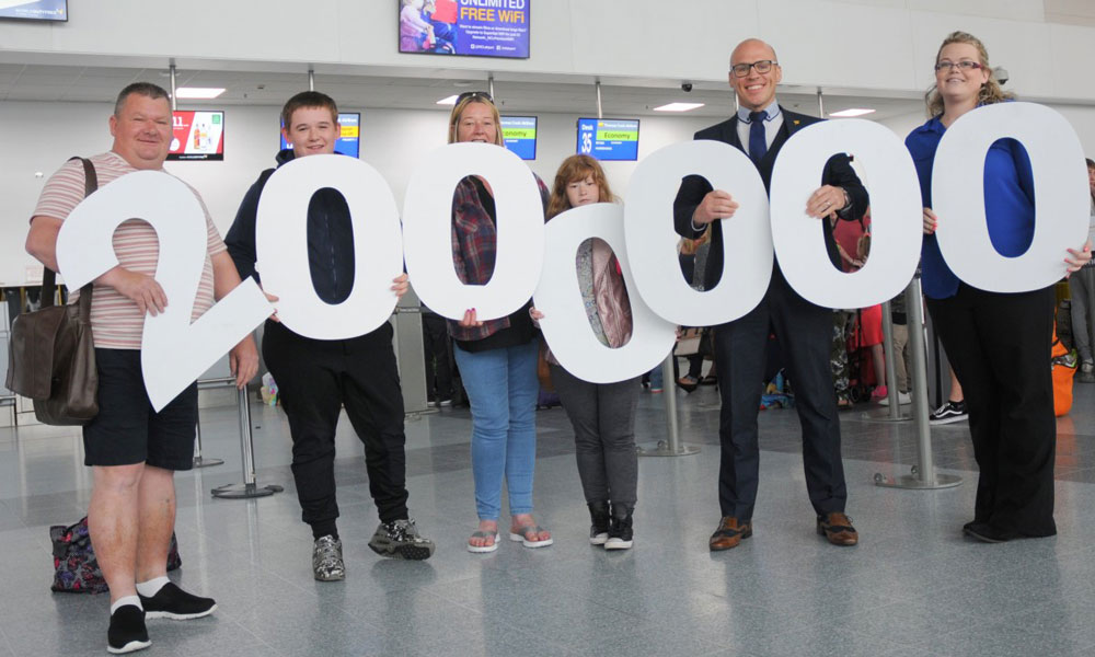 Newcastle International Airport Celebrates Ever-Increasing Passenger Figures